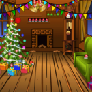Knf Winter Wooden House Escape