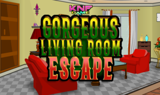 Knf Gorgeous living Room Escapeのゲーム画面「Knf Gorgeous living Room Escape」