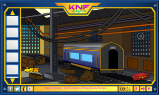 Knf Diamond Hunt 11 : Train Yard Escapeのゲーム画面「Knf Diamond Hunt 11 : Train Yard Escape」