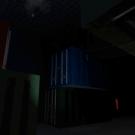 貨物庫の中 複雑に入り組んでいる