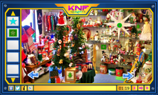 Knf Christmas Gift Shop Escapeのゲーム画面「Christmas Gift Shop Escape」