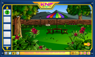 Knf Escape From Palace Gardenのゲーム画面「Escape games」