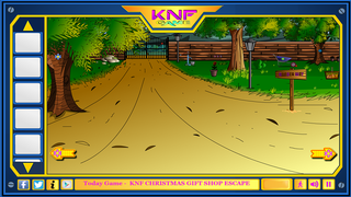 Knf Rescue The Snow Goatのゲーム画面「Knf Rescue The Snow Goat」