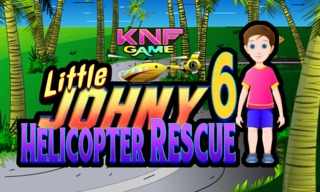 Knf Little Johny 6 – Helicopter Rescueのゲーム画面「 Helicopter Rescue」