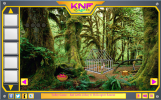 Knf Forest Reindeer Escapeのゲーム画面「Forest Reindeer Escape」
