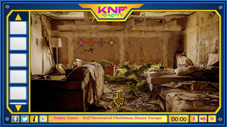 Knf Abandoned Bungalow House Escapeのゲーム画面「Knf Abandoned Bungalow House Escape」
