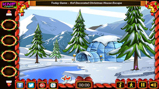 Knf Penguin Rescue From Igloo Houseのゲーム画面「Knf Penguin Rescue From Igloo House」