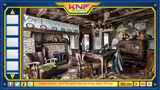Knf Abandoned Bungalow House Escape 2のゲーム画面「Knf Abandoned Bungalow House Escape 2」