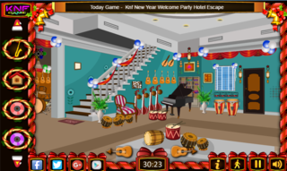 Knf Escape From Musical Instruments Shopのゲーム画面「Escape From Musical Instruments Shop」
