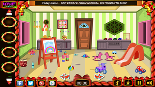 Knf Kids Play Room Escapeのゲーム画面「Kids Play Room Escape」
