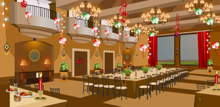 Knf New Year Party Restaurant Escapeのゲーム画面「Knf New Year Party Restaurant Escape」