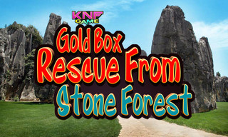 Knf Gold Box Rescue From Stone Forestのゲーム画面「Knf Gold Box Rescue From Stone Forest」