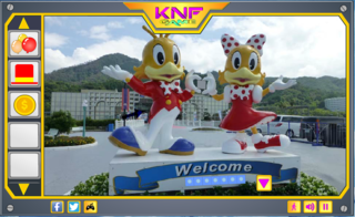 Knf Downtown Theme Park Escapeのゲーム画面「Knf Downtown Theme Park Escape」