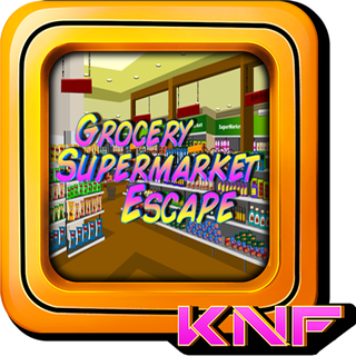 Knf Grocery Supermarket Escapeのゲーム画面「Grocery Supermarket Escape」