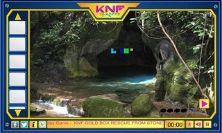 Knf Rescue Gold From Forest Caveのゲーム画面「Rescue Gold From Forest Cave」