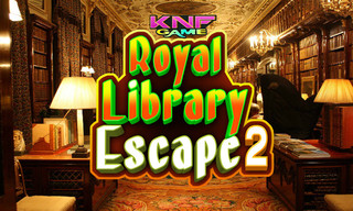 Knf Royal Library Escape 2のゲーム画面「Knf Royal Library Escape 2」