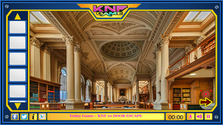 Knf Royal Library Escape 3のゲーム画面「Knf Royal Library Escape 3」