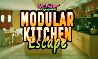 Knf Modular Kitchen Escapeのゲーム画面「Modular Kitchen Escape」