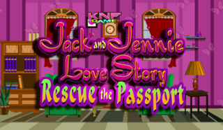 Knf Jack & Jennie Love Story – Rescue the Passportのゲーム画面「Knf Jack & Jennie Love Story」