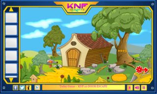 Knf Little johny 4 Lake house escapeのゲーム画面「Knf Little johny 4 Lake house escape」