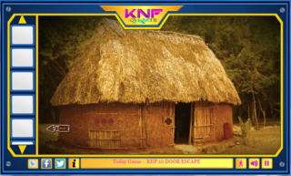 Knf Mayan Village Car Escapeのゲーム画面「Knf Mayan Village – Car Escape」