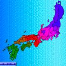 マップは所属国色に色分けされます