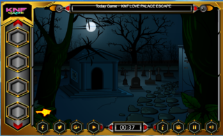 Knf Escape From The Cemeteryのゲーム画面「Knf Escape From The Cemetery」