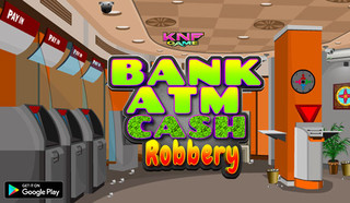 Knf Bank ATM Cash Robberyのゲーム画面「Knf Bank ATM Cash Robbery」