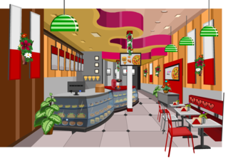 Knf Valentines Pizza Shop Escapeのゲーム画面「Knf Valentines Pizza Shop Escape」