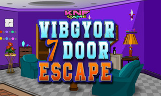 Knf Vibgyor 7 Door Escapeのゲーム画面「Vibgyor 7 Door Escape」