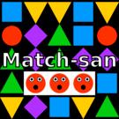 最も単純なマッチ3ゲーム
