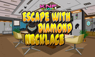 Knf Escape with Diamond Necklaceのゲーム画面「Escape with Diamond Necklace」