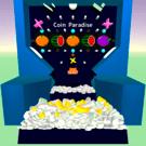 ゲーム画面です。Z,Xキーを押すとコインを投入できます。