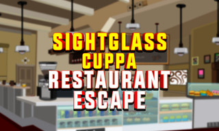 KNF Sightglass Cuppa Restaurant Escapeのゲーム画面「KNF Sightglass Cuppa Restaurant Escape」