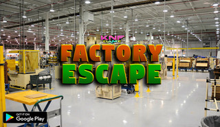 Knf Factory Escapeのゲーム画面「Knf Factory Escape」