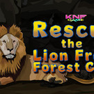 Knf Rescue the Lion From Forest Cave