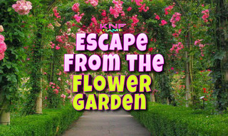 Knf Escape From the Flower Gardenのゲーム画面「Knf Escape From the Flower Garden」