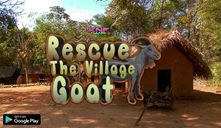 Knf Rescue The Village Goatのゲーム画面「Knf Rescue The Village Goat 」