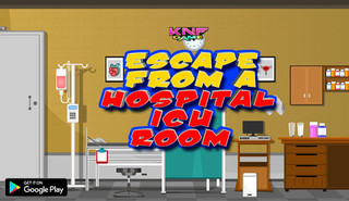 Knf Escape From a Hospital ICU Roomのゲーム画面「Knf Escape From a Hospital ICU Room」