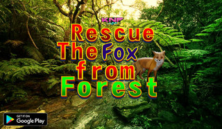 Rescue The Fox from Forestのゲーム画面「Rescue The Fox from Forest 」