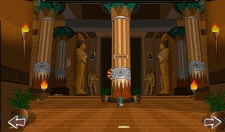 Knf Egyptian Golden Flower Palace Escapeのゲーム画面「Knf Egyptian Golden Flower Palace Escape」