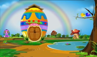 Knf Easter Bunny Escapeのゲーム画面「Knf Easter Bunny Escape」