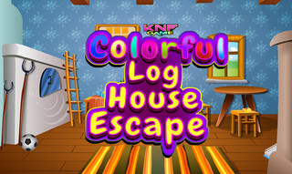 Knf Colorful Log House Escapeのゲーム画面「Knf Colorful Log House Escape 」