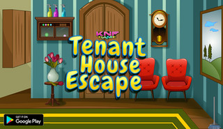 KNF Tenant House Escapeのゲーム画面「KNF Tenant House Escape」