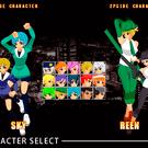 現バージョンでは15キャラクターが使用可能!