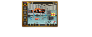 Knf Car Workshop Escapeのゲーム画面「Knf Car Workshop Escape」