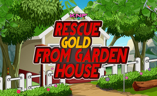 Knf Rescue Gold From Garden Houseのゲーム画面「Knf Rescue Gold From Garden House」