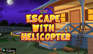 Knf Escape with Helicopterのゲーム画面「Knf Escape with Helicopter」