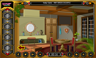 Knf Village Wooden House Escapeのゲーム画面「Knf Village Wooden House Escape」