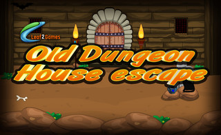 Old Dungeon House escapeのゲーム画面「Old Dungeon House escape」